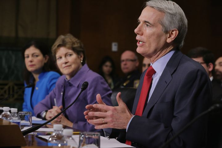 Sens. Kelly Ayotte (R-N.H.), Jeanne Shaheen (D-N.H.) and Rob Portman (R-Ohio) testify about the impact of heroin and prescrip