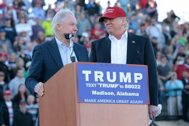 Apparently Sen. Jeff Sessions (R-Ala.) does not mind Trump's racism. Sessions endorsed the GOP front-runner...