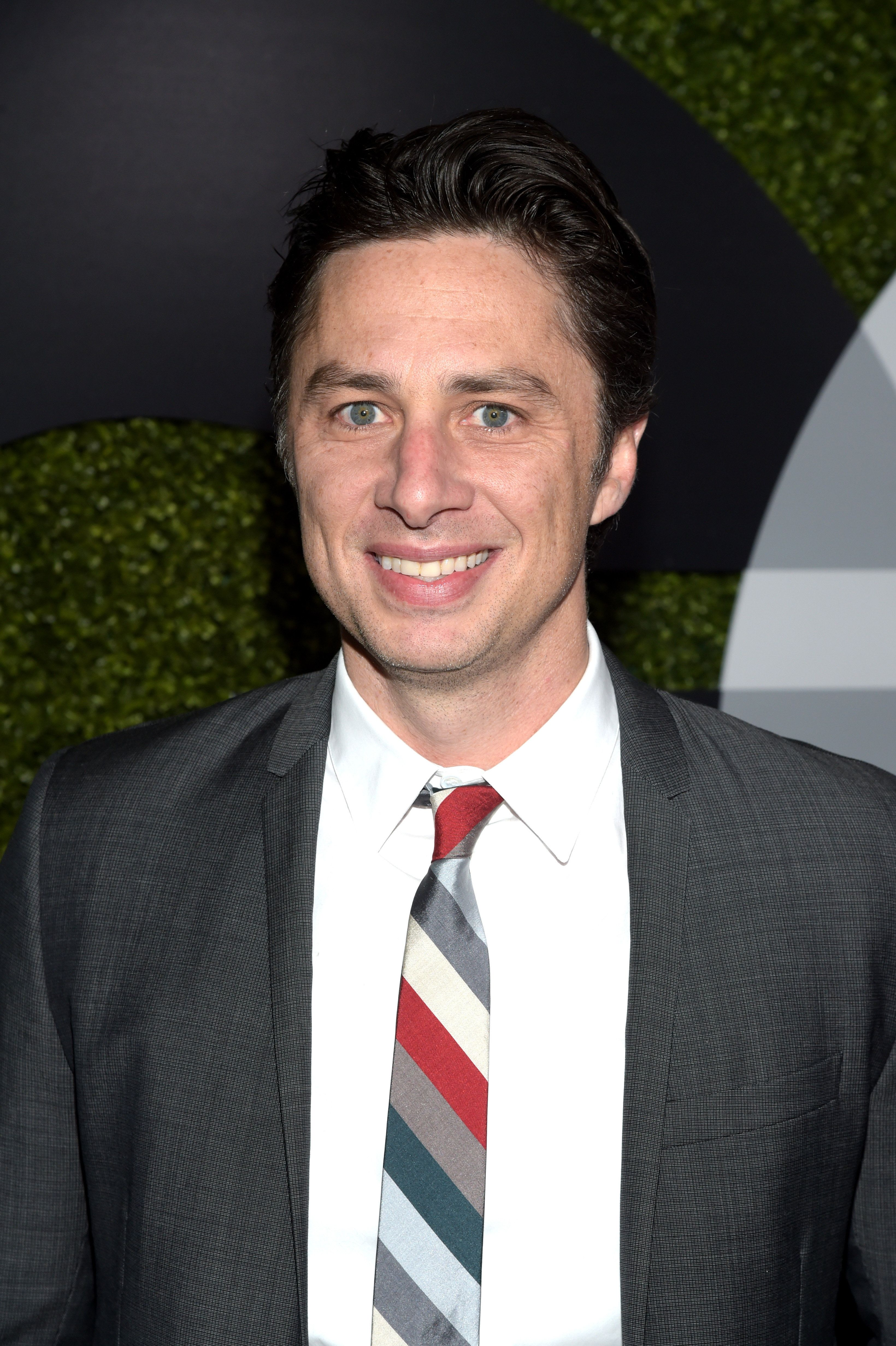LOS ANGELES, CA - DECEMBER 03:  Actor Zach Braff  attends the GQ 20th Anniversary Men Of The Year Party at Chateau Marmont on December 3, 2015 in Los Angeles, California.  (Photo by Jason Kempin/Getty Images)
