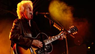 ANAHEIM, CA - JANUARY 21:  Singer-songwriter Graham Nash perfroms on stage at the 2016 NAMM Show Opening Day at the Anaheim Convention Center on January 21, 2016 in Anaheim, California.  (Photo by Jesse Grant/Getty Images for NAMM)