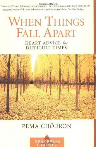 "Written by renowned Buddhist nun&nbsp;Pema Ch&ouml;dr&ouml;n,&nbsp;<i><a href=""http://www.amazon.com/When-Things-Fall-Apart-D"