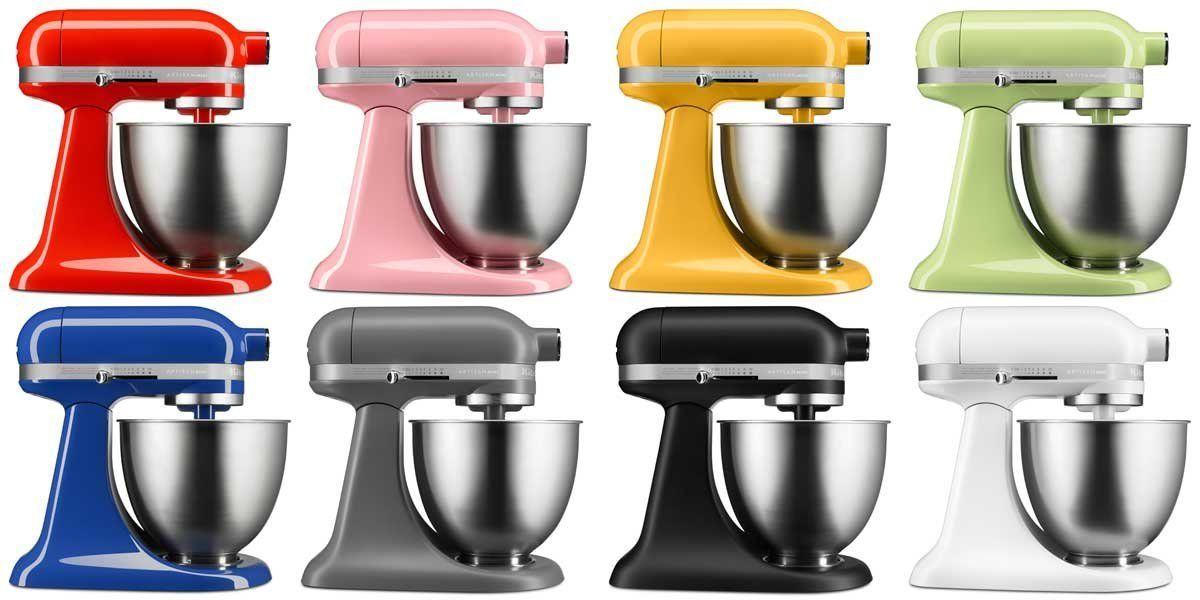 All Kitchenaid Colors kitchenaid's new mini stand mixer targets millennials and baby