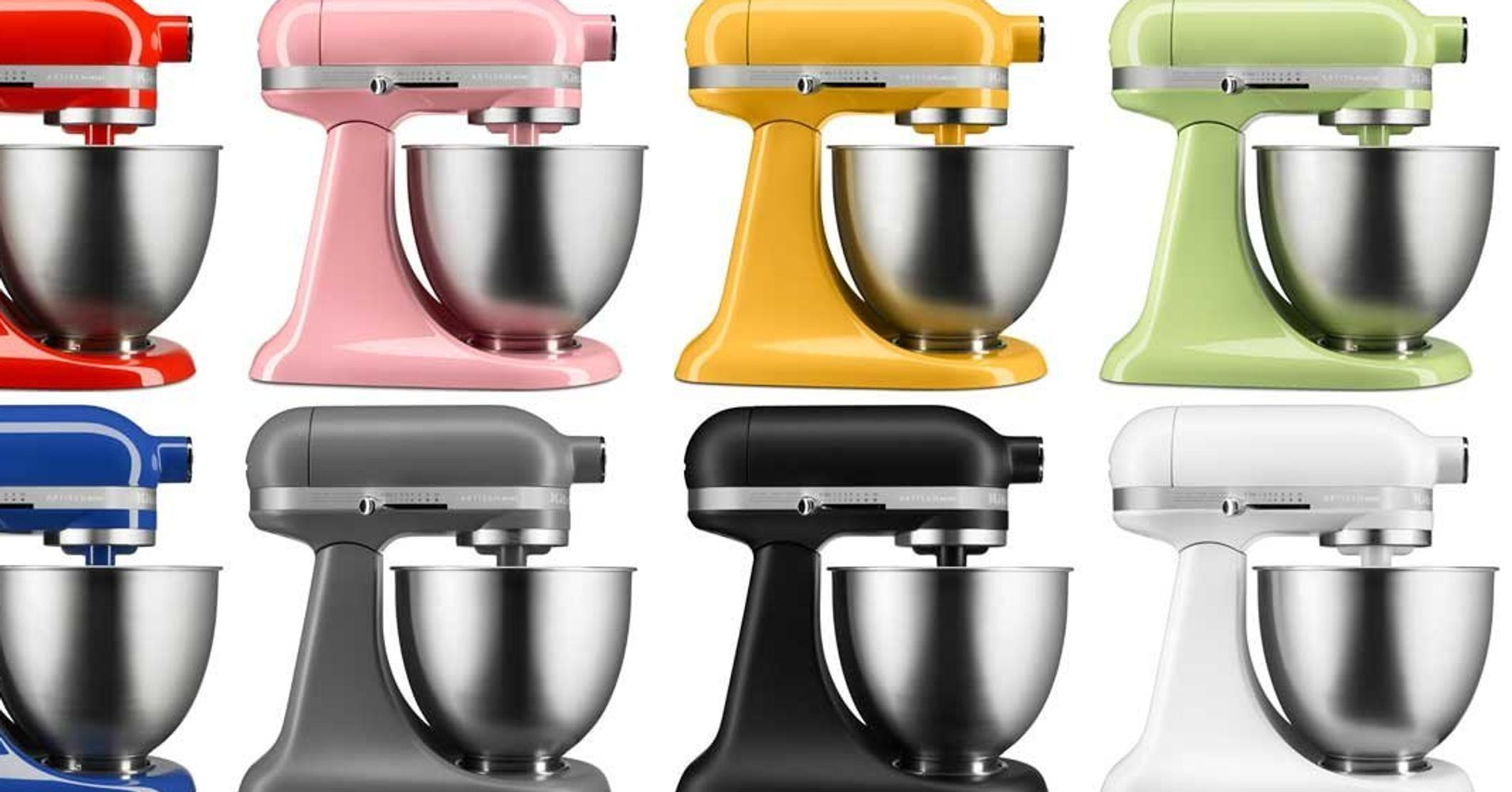 New Kitchenaid Mini Mixer Cookware Hungry Onion The Best News For People With Tiny Kitchens