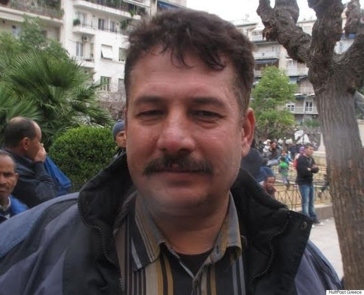 Abdul Rahim, 43, said he was jailed by the Taliban in Afghanistan before traveling to Greece.