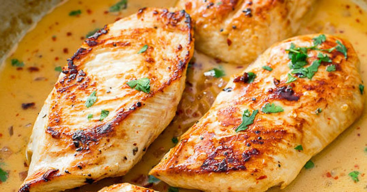 13 Healthy Chicken Recipes Thatll Make Dinner A Breeze Huffpost
