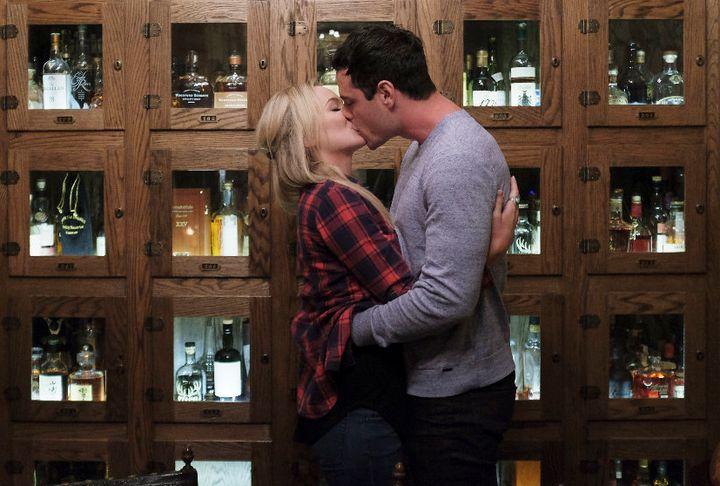 Kiss, kiss. Love, love.