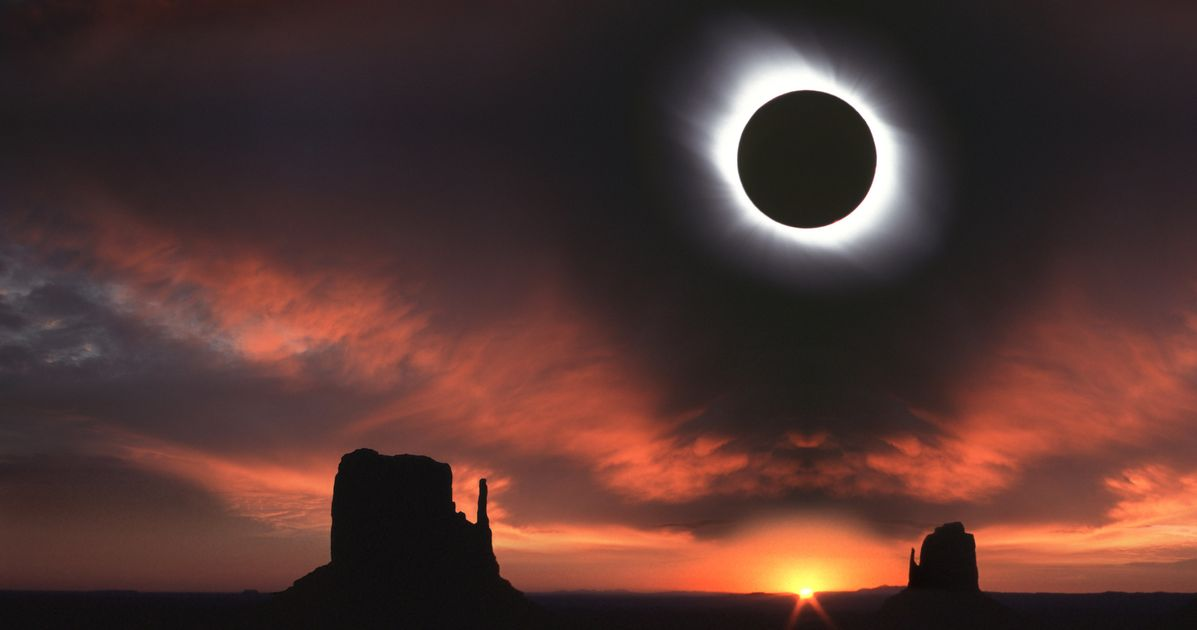 See Where Will Fall Dark During The Next Total Solar Eclipse