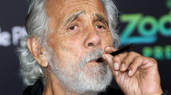 HOLLYWOOD, CA - FEBRUARY 17: Actor Tommy Chong attends the Premiere of Walt Disney Animation Studios' 'Zootopia' at the El Capitan Theatre on February 17, 2016 in Hollywood, California.  (Photo by Frederick M. Brown/Getty Images)