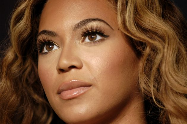 Beyoncé is known to give her natural lashes a boost with mink lash