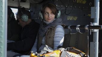 Tina Fey plays Kim Baker in Whiskey Tango Foxtrot from Paramount Pictures and Broadway Video/Little Stranger Productions in theatres March 4, 2016.