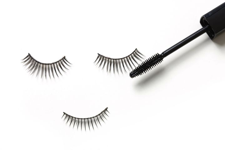 "Lightly apply mascara to your lash extensions to give your eyes that ""pop."""