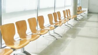 Chairs in the waiting room