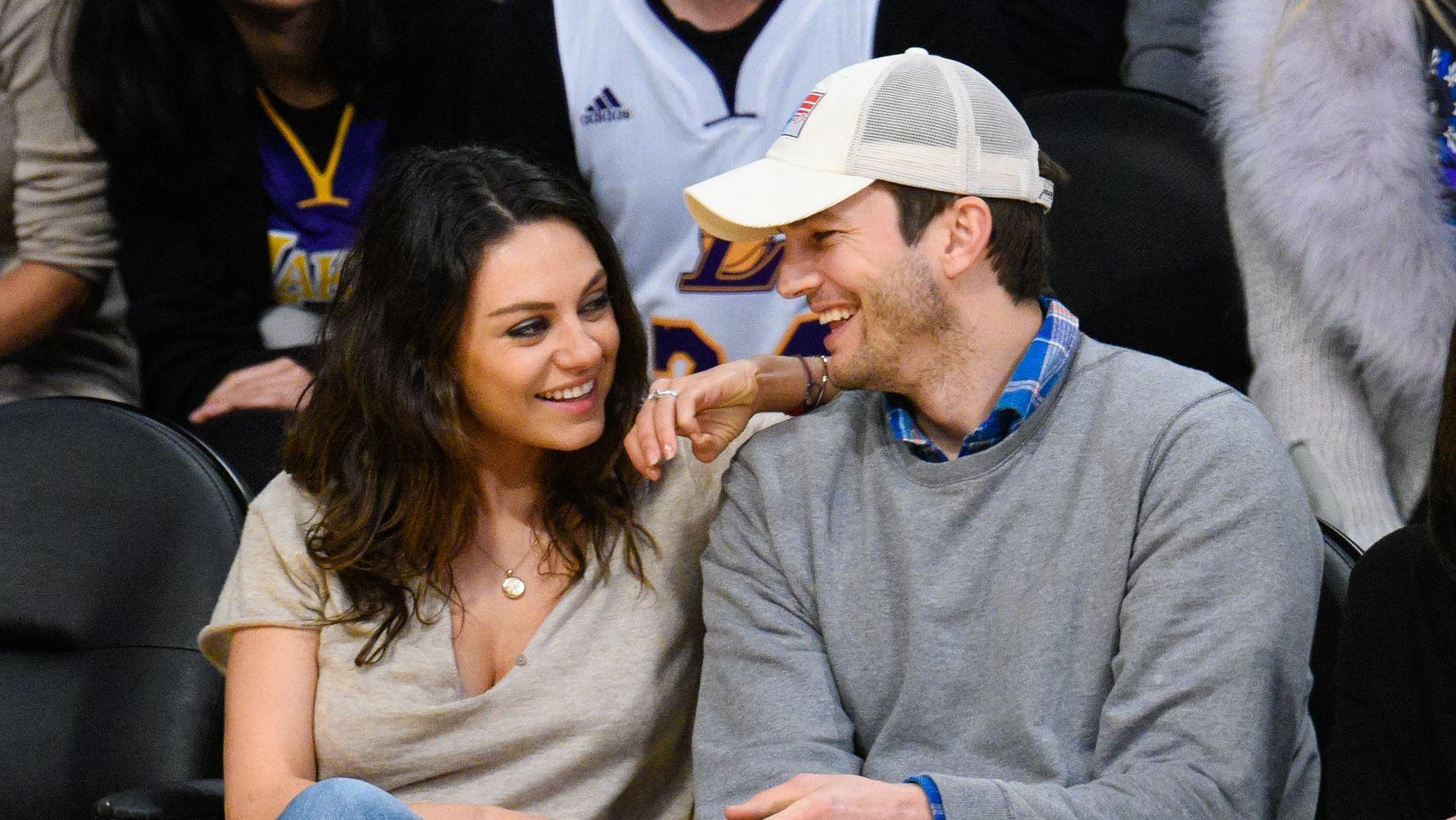 Ashton Kutcher Dishes On His Top-Secret Wedding To Mila Kunis