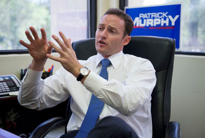 Patrick Murphy at his Palm Beach Gardens, Florida, office in 2012.