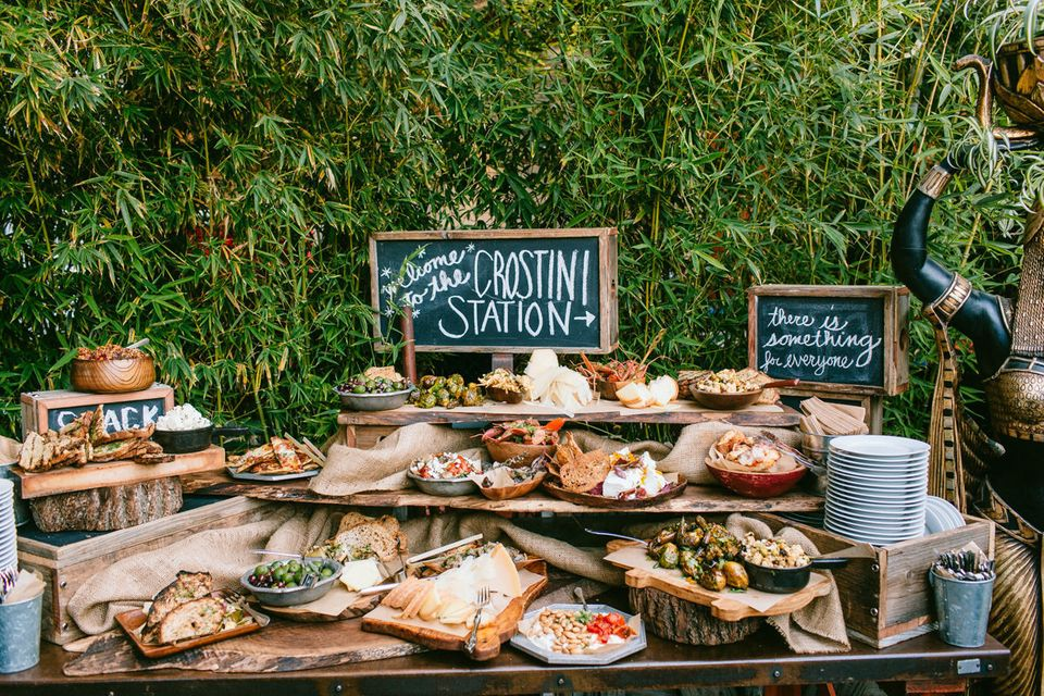 17 Genius Wedding Bar Ideas That Dont Involve Booze Huffpost Life