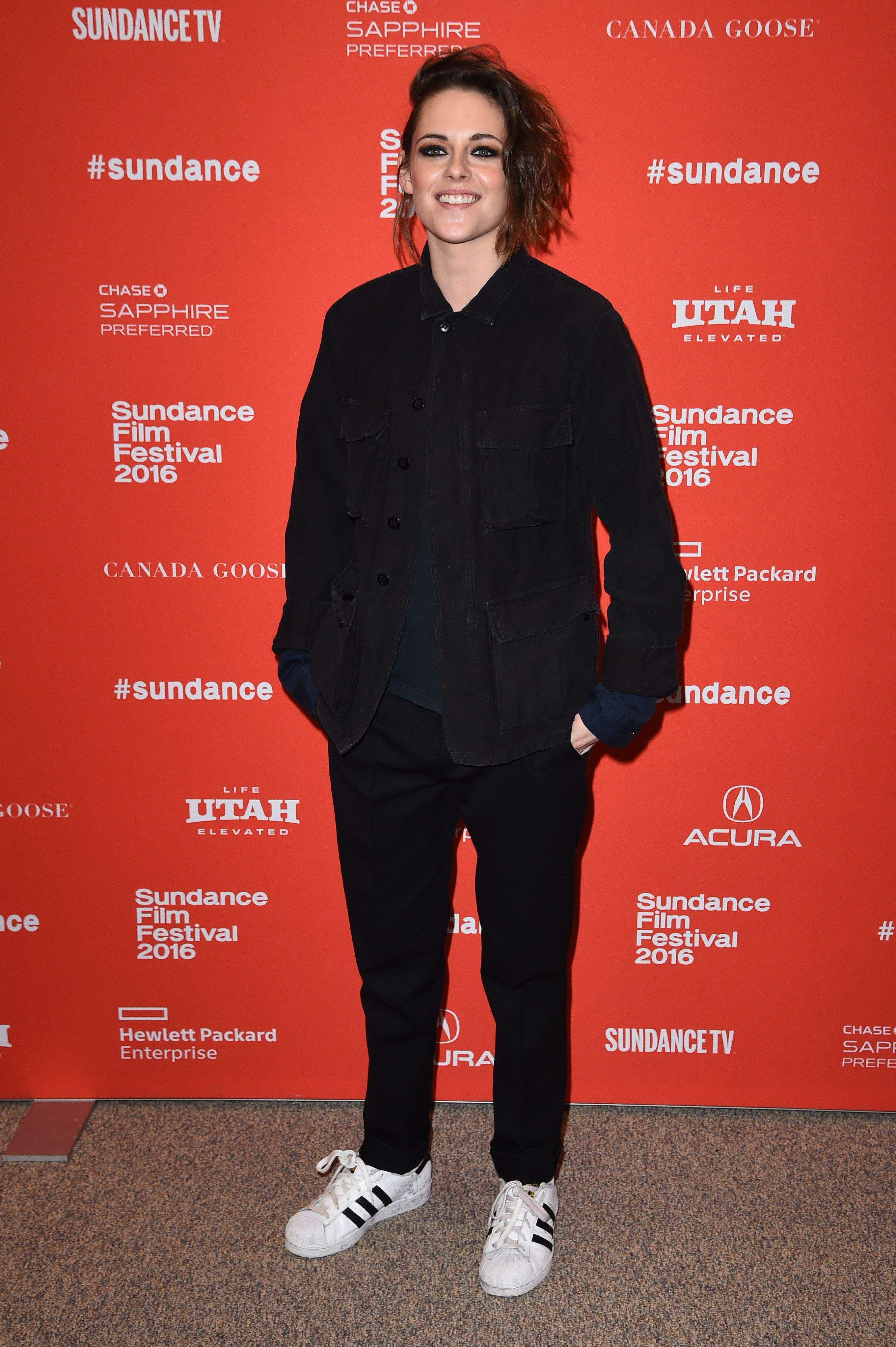 PARK CITY, UT - JANUARY 24:  Actress Kristen Stewart attends the 'Certain Women' Premiere during the 2016 Sundance Film Festival at Eccles Center Theatre on January 24, 2016 in Park City, Utah.  (Photo by Nicholas Hunt/Getty Images for Sundance Film Festival)