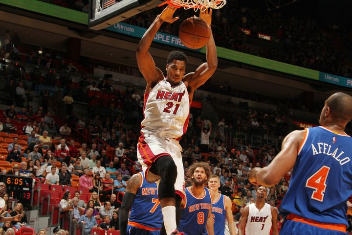 Hassan Whiteside signed a two-year deal with Miami after two stints in Lebanon, two in China and five in the D-League. All of