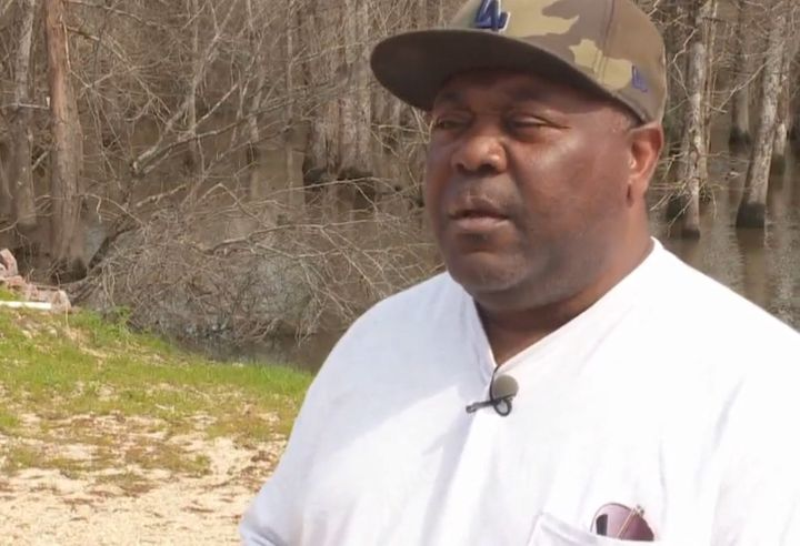 Virgil Rayford says he is being falsely accused of assaulting a Confederate flag vendor.