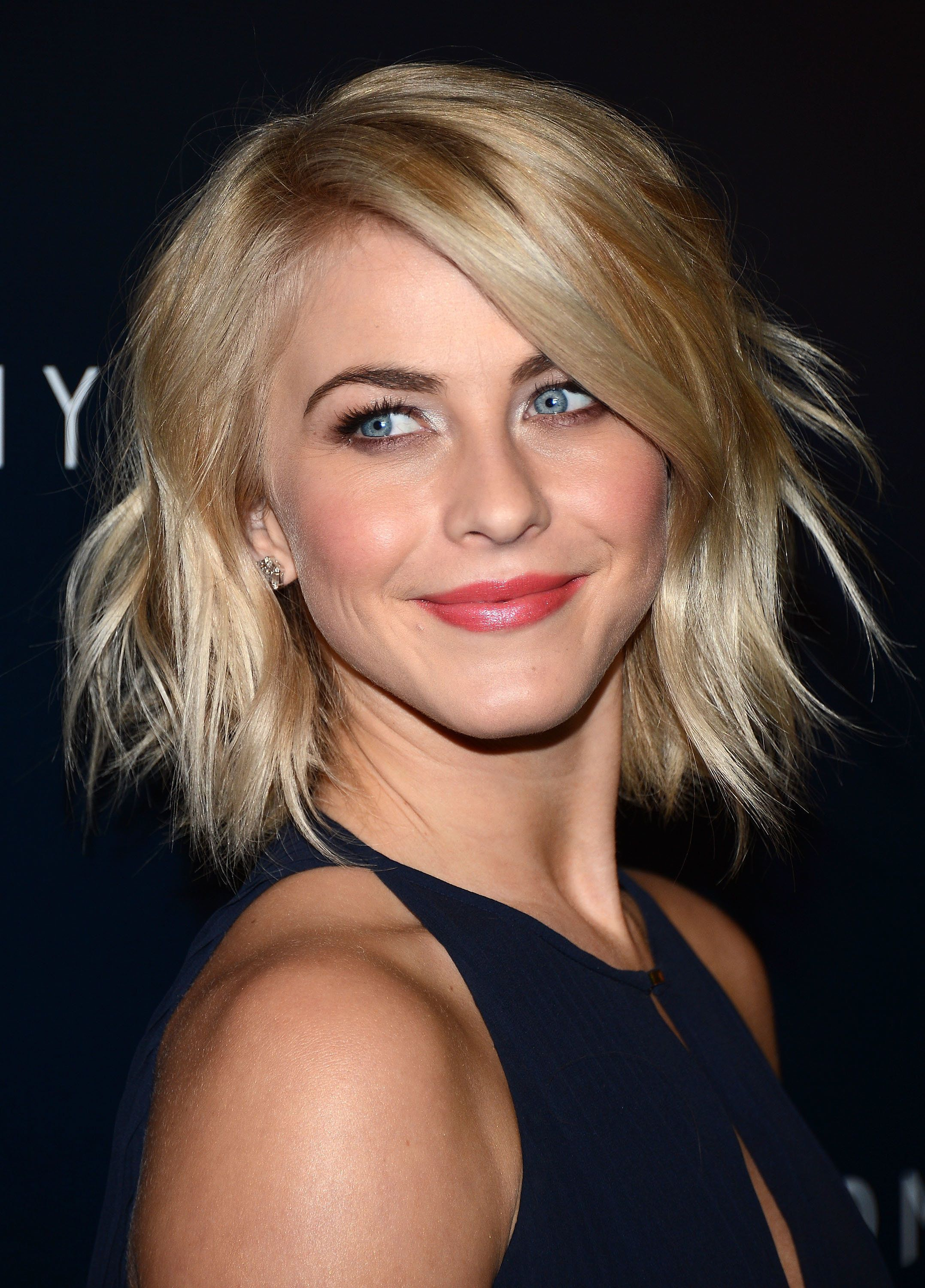WEST HOLLYWOOD, CA - FEBRUARY 13:  Actress and dancer Julianne Hough arrives at the Tommy Hilfiger West Coast Flagship Grand Opening Event at Tommy Hilfiger West Hollywood on February 13, 2013 in West Hollywood, California.  (Photo by Amanda Edwards/WireImage)
