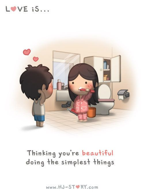 Husbands Illustrations For Wife Capture Love At Its Simplest - Cute illustrations capture how love is in the small things