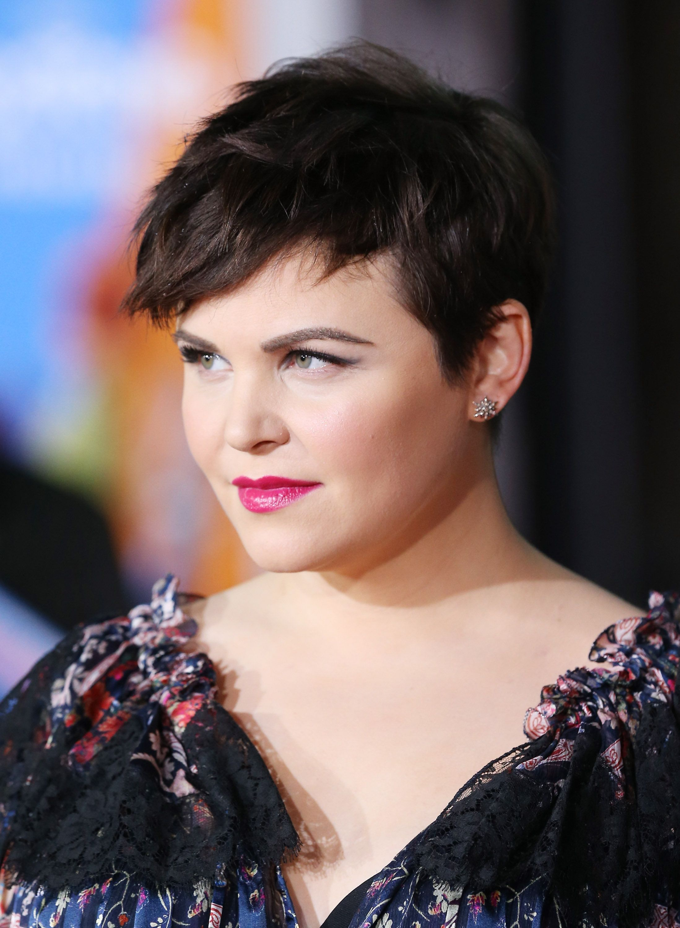 Copy Ginnifer Goodwin's textured pixie (and rich hair color) to fake fullness.