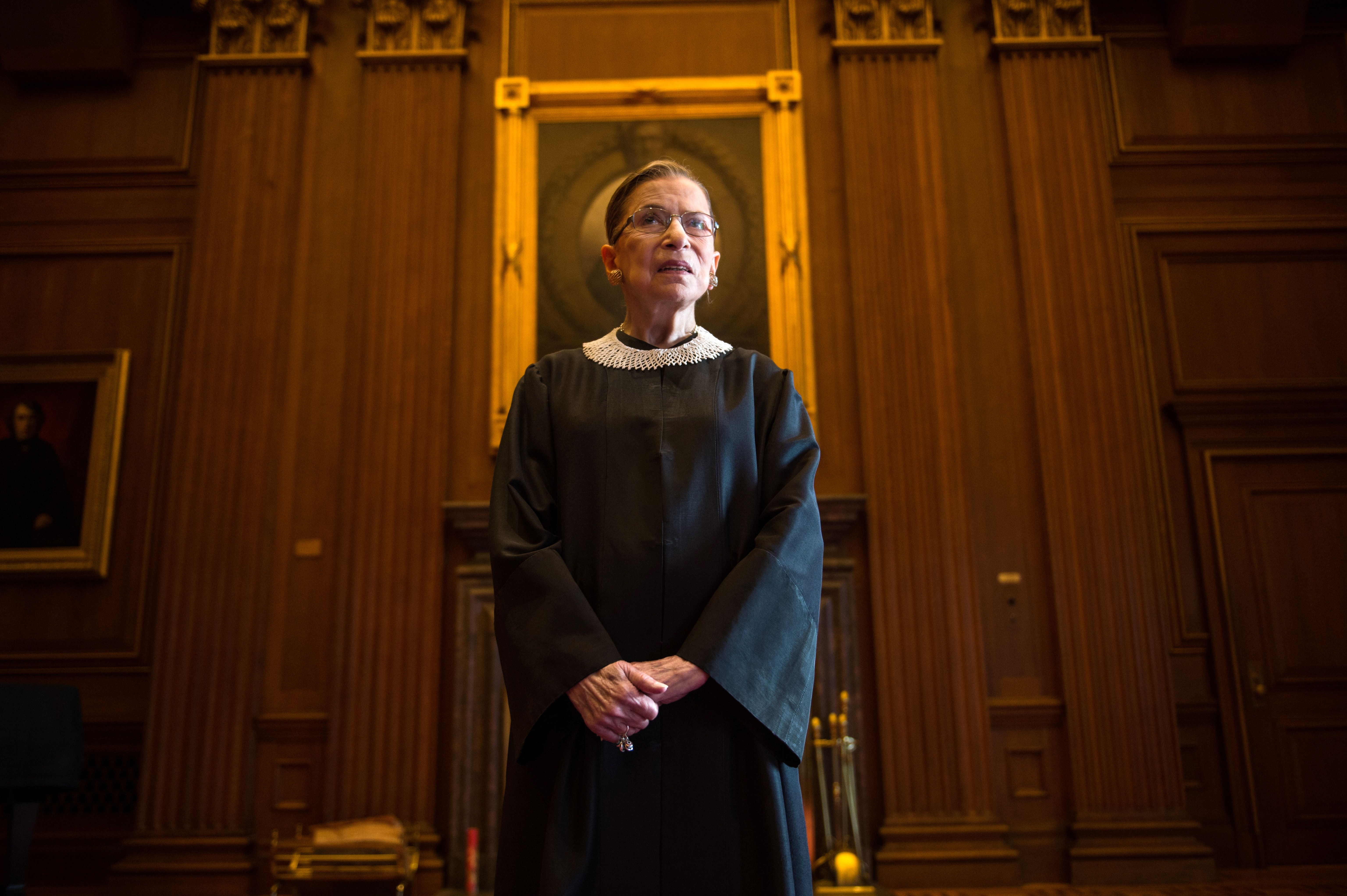 Justice Ruth Bader Ginsburg was full of sharp questionsat Wednesday's oral arguments in Whole Woman's Health v. Hellers