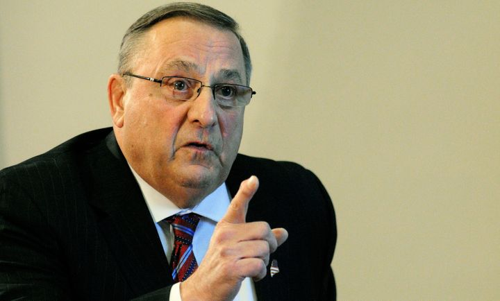 Maine Gov. Paul LePage (R) is now backing Donald Trump.