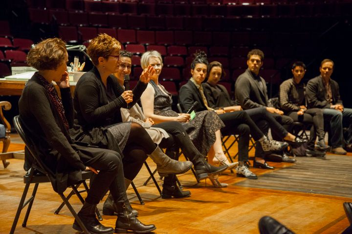 "Lisa Kron, who co-wrote ""Fun Home"" with composer Jeanine Tesori, spoke with 17 U.N. ambassadors from around the world March 1"