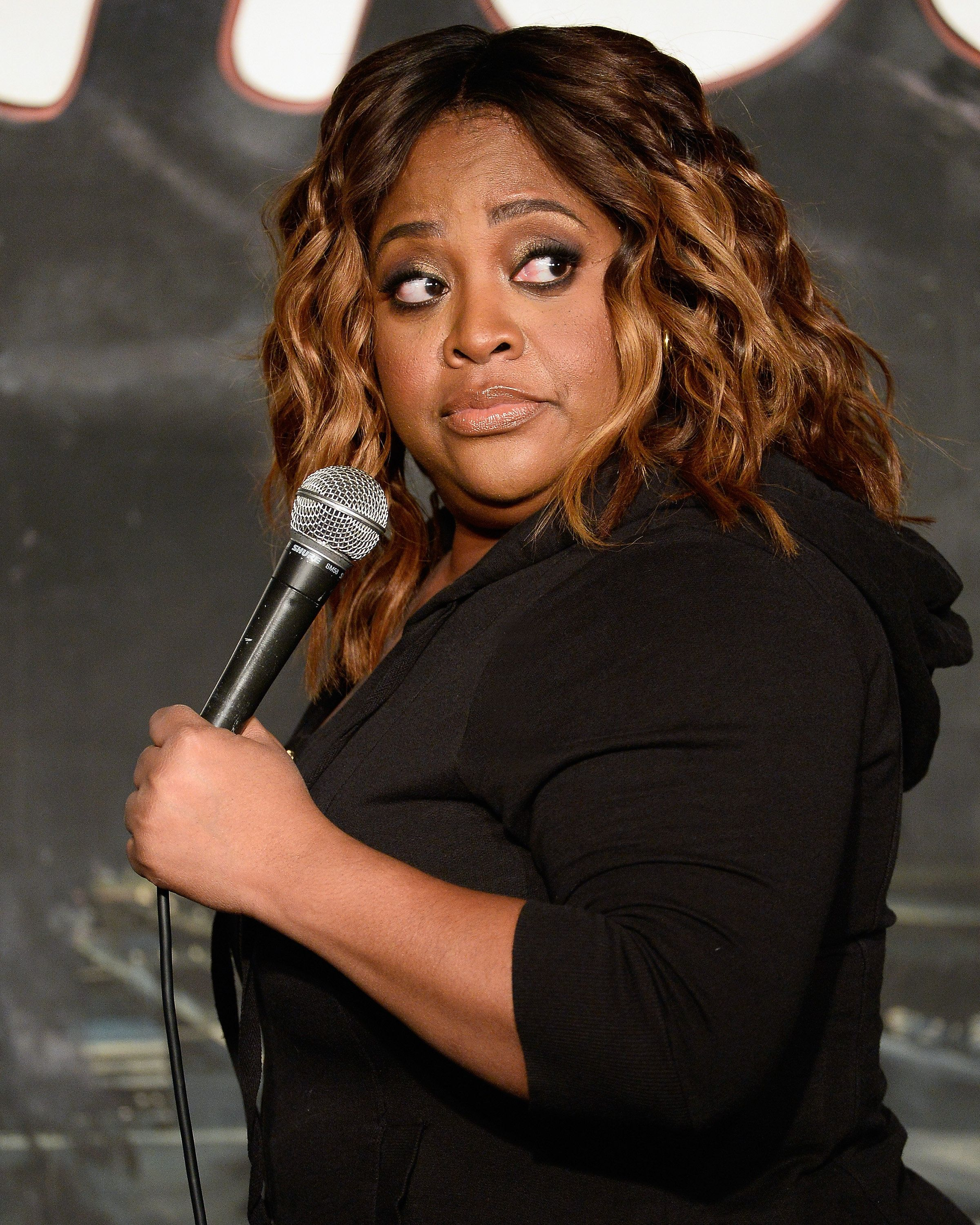 PASADENA, CA - FEBRUARY 05:  Comedian Sherri Shepherd performs during her appearance at The Ice House Comedy Club on February 5, 2016 in Pasadena, California.  (Photo by Michael Schwartz/WireImage)