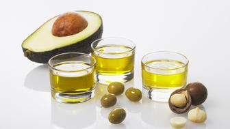 Monounsaturated Fats - foods and their oils that make up healthy fats.