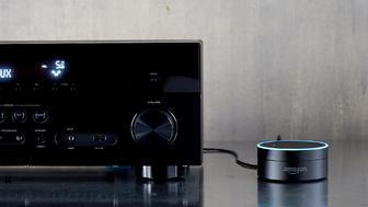 Amazon introduced the Echo Dot on Thursday.