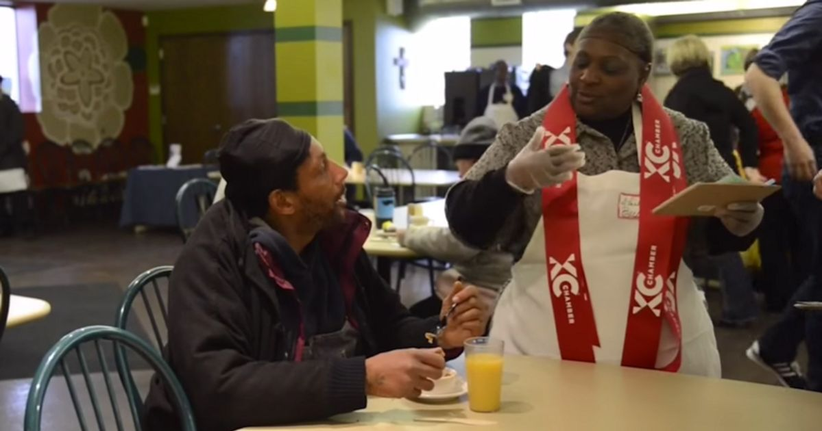 Soup Kitchen Is Set Up Like A Restaurant So Homeless Can ...