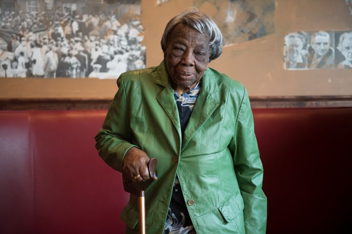 Virginia McLaurin danced her way into hearts across the country.