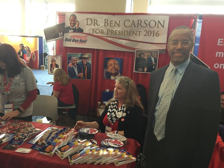 Ben Carson supporters at CPAC weren't ready to give up the fight yet.