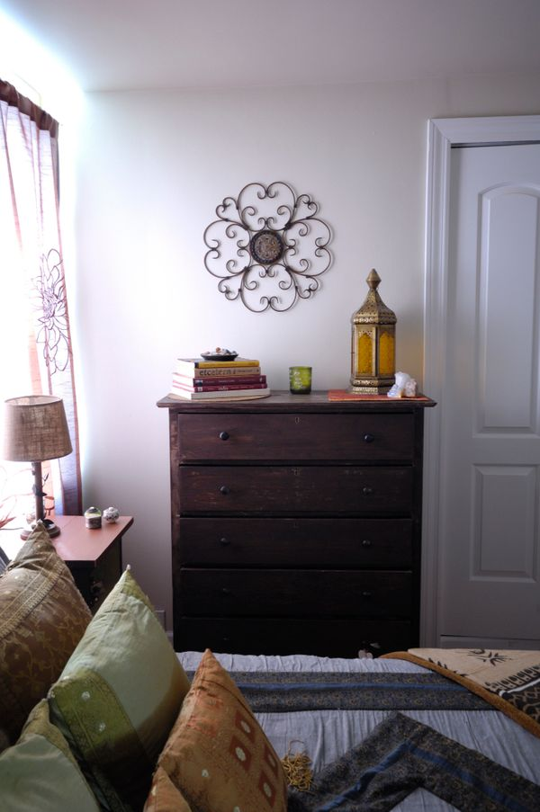"The next step is to find a peaceful and uncluttered area in your home. <a href=""http://jaymebarrett.com/entersite.html"">Jayme"