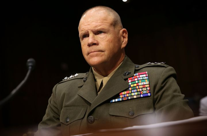Gen. Robert Neller spoke before a subcommittee of the Senate Appropriations Committee on Wednesday.