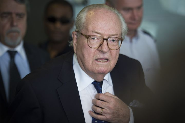 The founder of France's National Front, Jean-Marie Le Pen, is one of a few figures of Europe's far-right to endorse Trump.