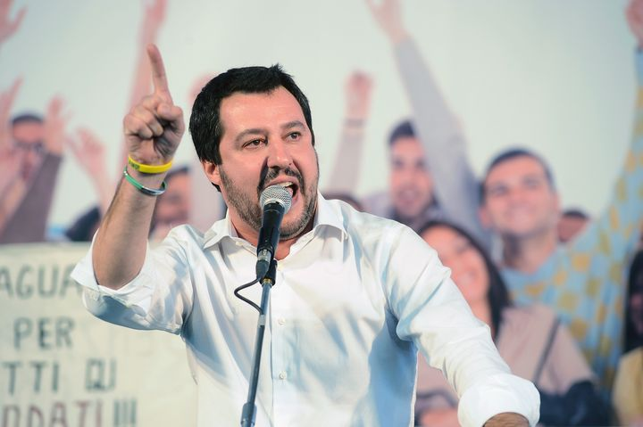 Matteo Salvini, the leader of Italy's Northern League, has criticized Pope Francis on immigration.