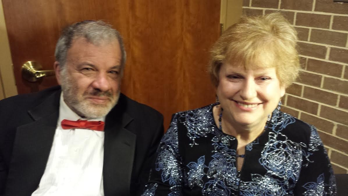 Wendy and her husband David.