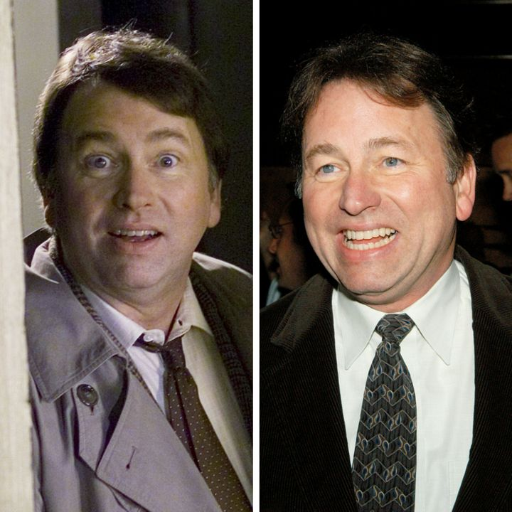"""(L) John Ritter as Sam Dorianon """"Scrubs"""" (R)John Ritter attends the afterparty for opening night of Woody Allen's"""