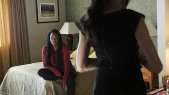 HOW TO GET AWAY WITH MURDER - 'Something Bad Happened' - Annalise moves forward with a plan to protect the team from Philip but the risk involved may prove to be too dangerous. Meanwhile, Wes continues to search for new information regarding his mother's death. In flashback, the Mahoney case takes a drastic turn for Annalise's client, on 'How to Get Away with Murder,' THURSDAY, MARCH 3 (10:00-11:00 p.m. EST) on the ABC Television Network. (Photo by Mitch Haaseth/ABC via Getty Images) VIOLA DAVIS
