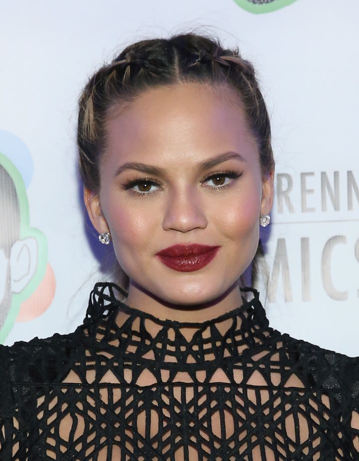Chrissy Teigen Wears The Braided Ponytail Of Our Dreams