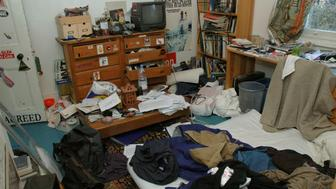 Extremely messy room of a teenager. (Photo by Photofusion/Universal Images Group via Getty Images)