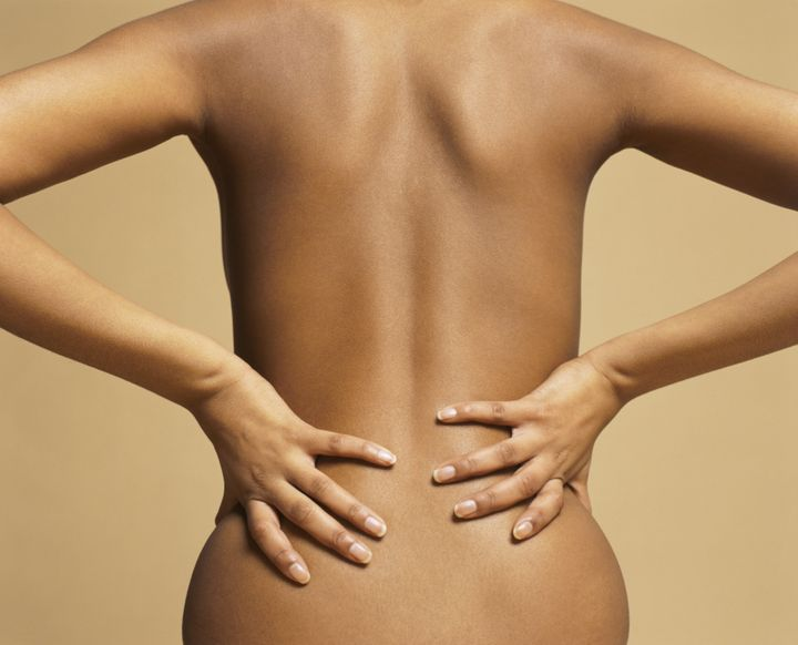 back pain during period