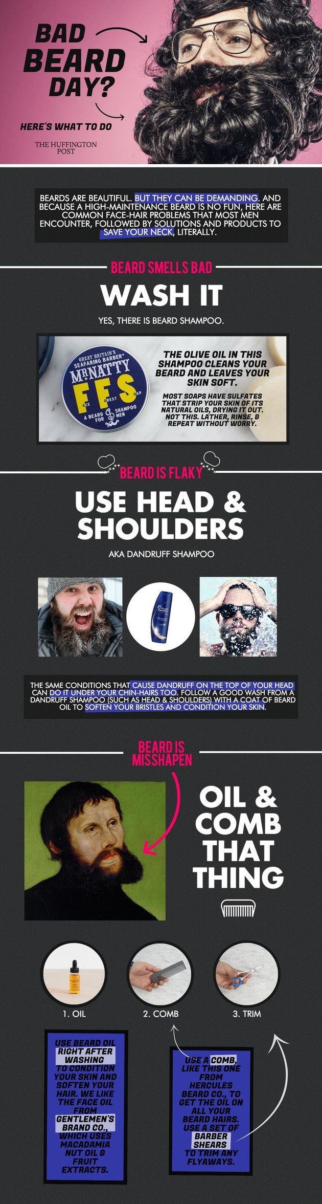 Bad Beard Days Happen, So Here's How To Handle