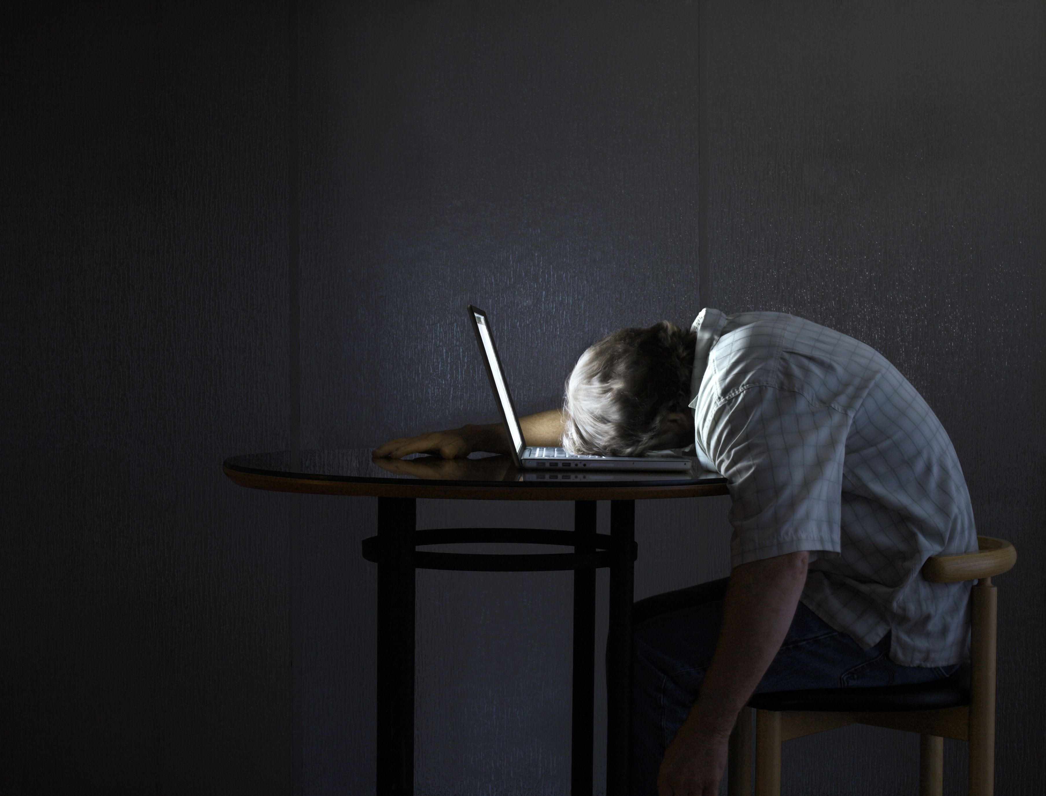 Microsleep can cause you to nod off at the computer for just a few seconds.