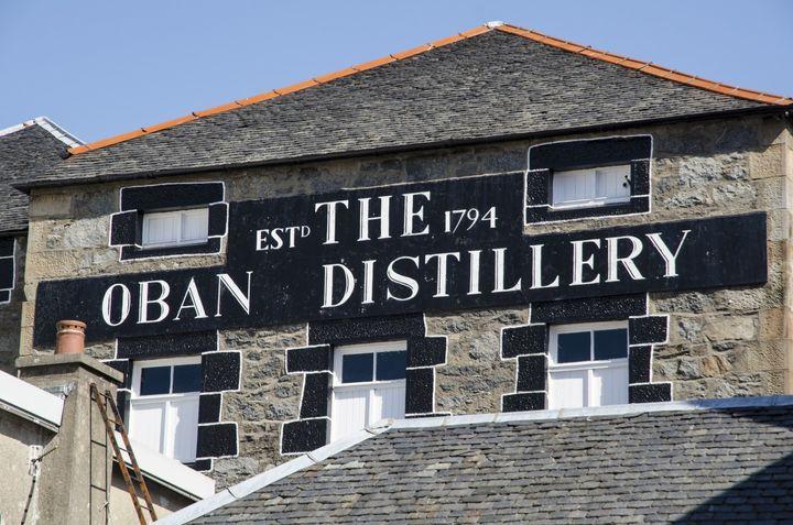Oban Distillery, established in 1794, is one of the oldest distilleries in Scotland.