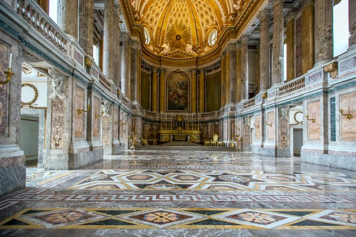 Visitors to the Caserta palace, a Unesco World Heritage site often referred to as Italy's own Versailles, increased 70 percen