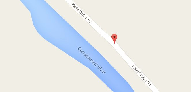 Google confirms that yeah, there's a Katie Crotch Road.