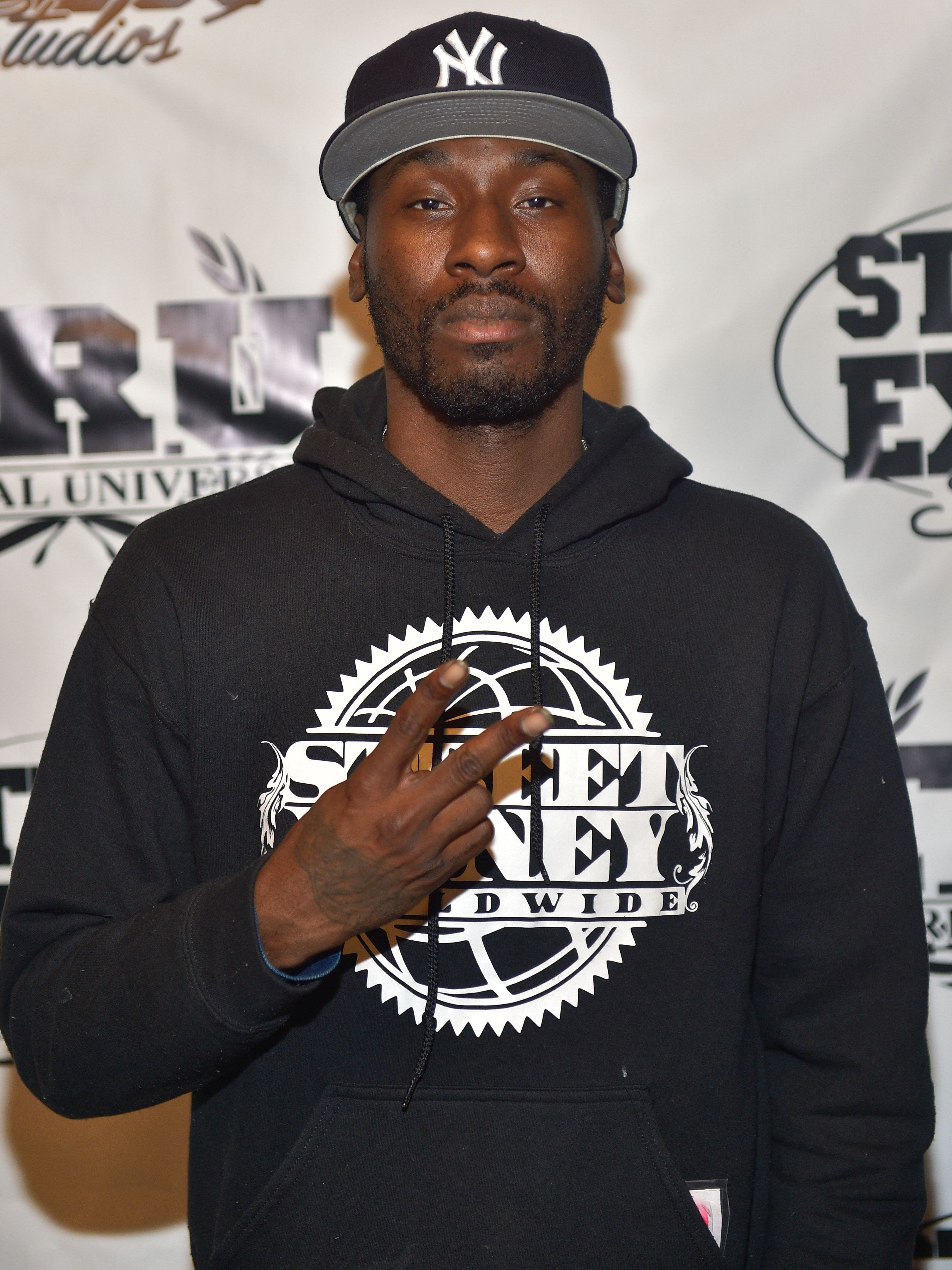ATLANTA, GA - FEBRUARY 18:  Rapper Bankroll Fresh attends Street Execs studio unveiling and TRU Records introduction at Street Execs Studios on February 18, 2015 in Atlanta, Georgia.  (Photo by Prince Williams/WireImage)